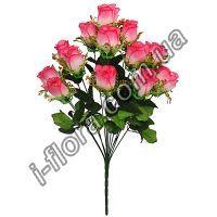 Роза с золотой юбочкой   6шт