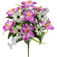 Букет Орхидея+Ноготки   10шт