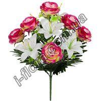 Букет роз и лилий   10шт
