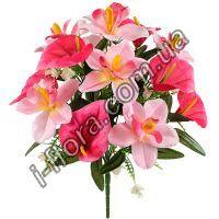 Букет орхидей и каллы   10шт