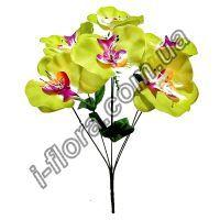 Букет искусственных орхидей   16шт