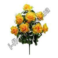 Букет роза с кашкой   10шт