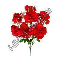 Букет бархатная роза на розетки   10шт