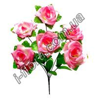 Букет роз на листе   10шт