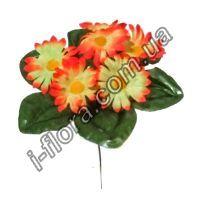 Букет ромашки цветные бордюр    40шт