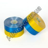 У-11 Лента желто-синяя  5см/50ярд