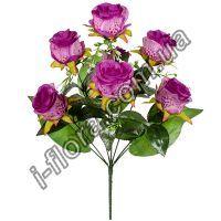 у2/1065 Букет розы искусственные  65см   10шт