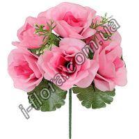 у2007 Букет роз с добавкой  бордюр 23см   50шт