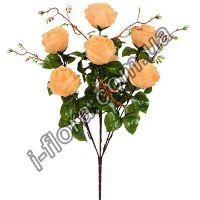 у2008 Букет розы с ветками 62см   10шт