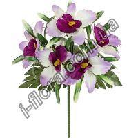 у373 Букет орхидеи бордюр 22см   40шт