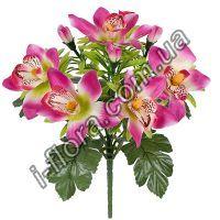 у392  Орхидеи декор с детками   29см   24шт