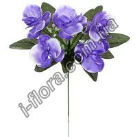 у6028  Букет орхидеи пластик  бордюр   25см  50шт