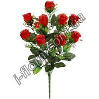 636 Букет бархатных роз   10шт