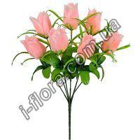 у868 Букет тюльпаны атлас 36см    20шт