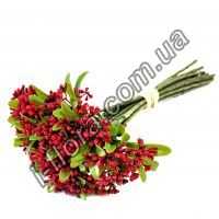 S-235  Ветки с ягодками в пучке   35см