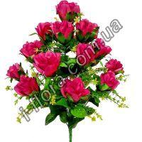 Lu-95а311  Роза атласная   54см  7шт