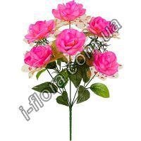 Букет роз с органзой   20шт