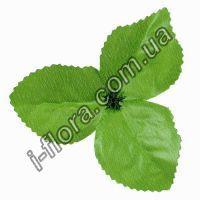 Лист 3-ка розы средний зел. 10 см  100шт