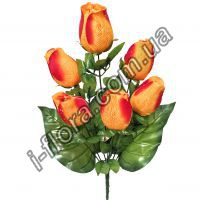 Роза бутон Гигант  58см  10шт