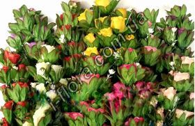 Букет бутоны роз высокие в подложке    74см  10шт